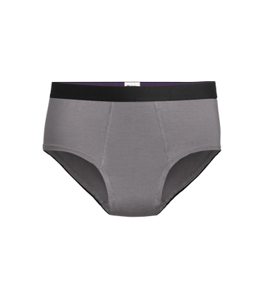 Women's Cheeky Brief in Grey