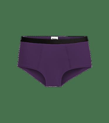 Women's Cheeky Brief in Dark Purple