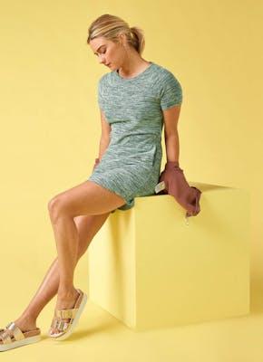Women's Hacci Shift Dress