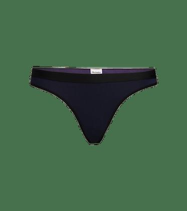 Women's Thong in Dark Sapphire