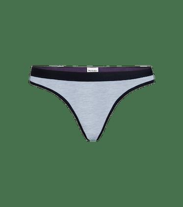 Women's Thong in Heather Grey