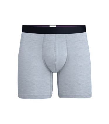Men's Boxer Brief in Heather Grey