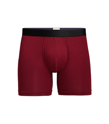 Men's Boxer Brief in Cabernet