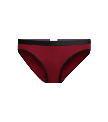 Women's Bikini in Cabernet