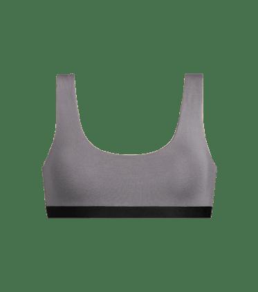 U-Back Bralette in Grey