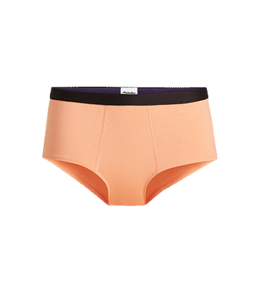 Women's Cheeky Brief in Cantaloupe