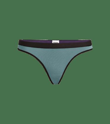 Women's Thong in Goblin Blue