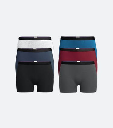 Boyshort 6-Pack in Classic Pack
