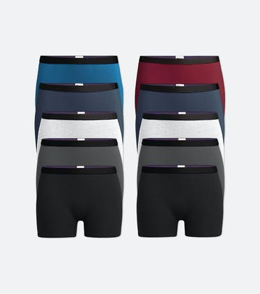 Boyshort 10-Pack in Classic Pack