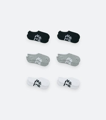 No Show Sock 6-Pack in Classic Pack