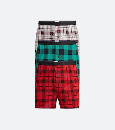 Boxer 3-Pack in Plaid Pack