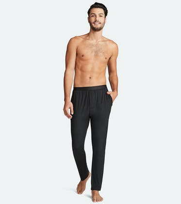 Men's Lounge Pant in Black