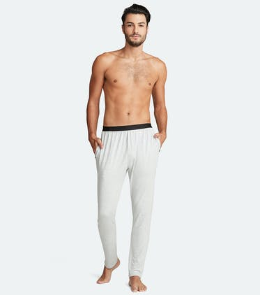 Men's Lounge Pant in Heather Grey