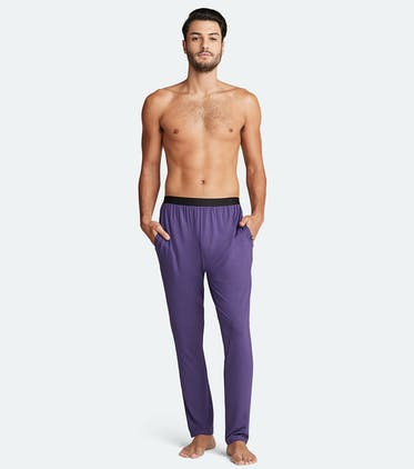 Men's Lounge Pant in Purple