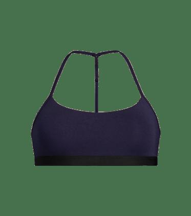 T-Back Bralette in Dark Sapphire