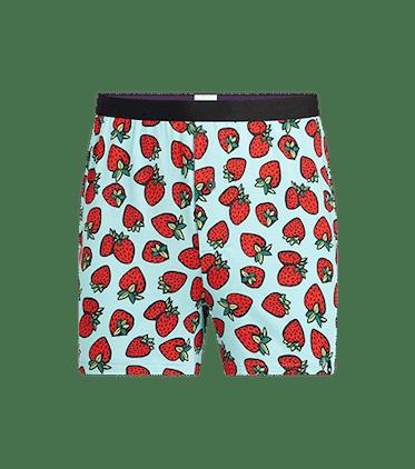 Men's Boxer in Strawberries