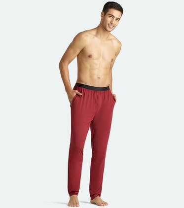 Men's Lounge Pant in Cabernet