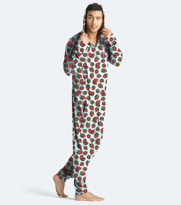 Unisex Onesie in Strawberries