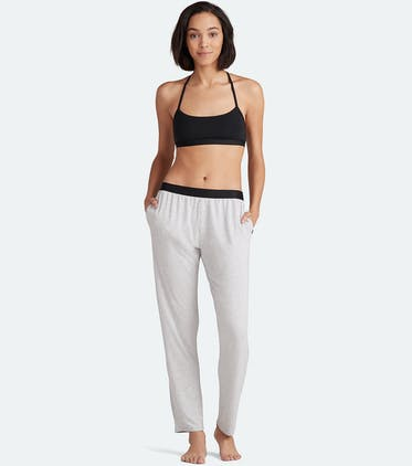 Women's Lounge Pant in Heather Grey