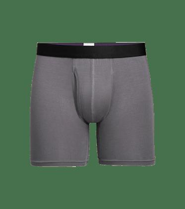Men's Boxer Brief w/ Fly in Grey