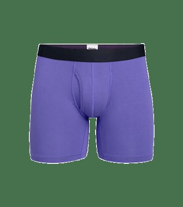 Men's Boxer Brief w/ Fly in Grape