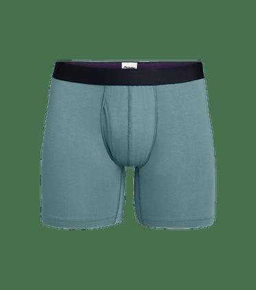 Men's Boxer Brief w/ Fly in Goblin Blue