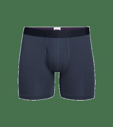 Men's Boxer Brief w/ Fly in Dark Sapphire