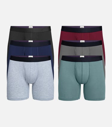 Boxer Brief w/ Fly 6-Pack in Classic Pack