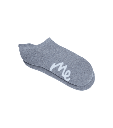 Ankle Sock in Heather Grey