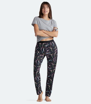 Women's Lounge Pant in Lightsabers