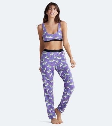 Women's Lounge Pant in Unicorns 2.0