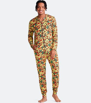 Unisex Onesie in Pineapples