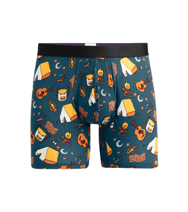 Men's Boxer Brief in Campout