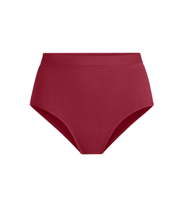 FeelFree High-Waisted Cheeky in Cabernet