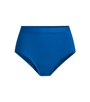 FeelFree High-Waisted Cheeky in Brilliant Blue