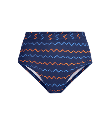 FeelFree High-Waisted Cheeky in Squiggle