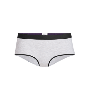 Women's Hipster in Heather Grey