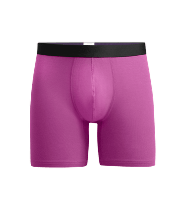 Men's Boxer Brief in Purple Orchid