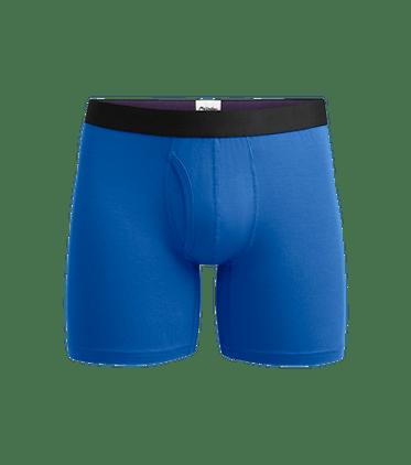 Men's Boxer Brief w/ Fly in Brilliant Blue