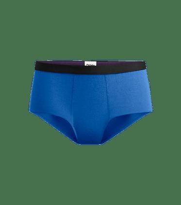 Women's Cheeky Brief in Brilliant Blue
