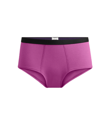 Women's Cheeky Brief in Purple Orchid