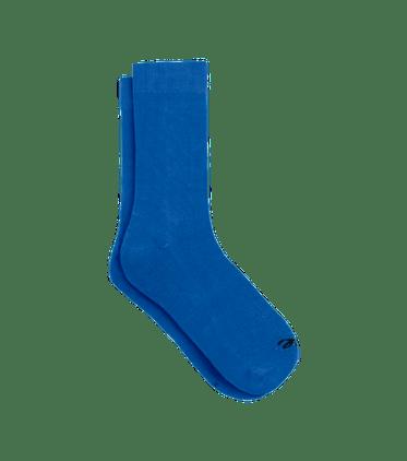 Crew Sock in Brilliant Blue