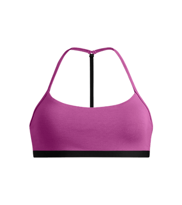T-Back Bralette in Purple Orchid