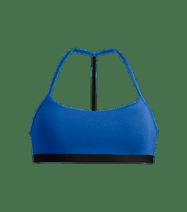 T-Back Bralette in Brilliant Blue