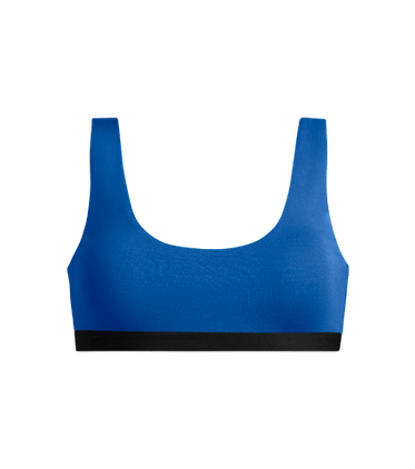 U-Back Bralette in Brilliant Blue