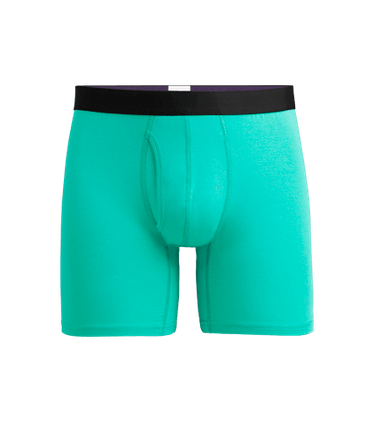 Men's Boxer Brief w/ Fly in Minty Fresh