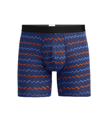 Men's Boxer Brief in Squiggle