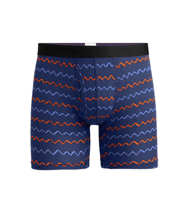 Men's Boxer Brief w/ Fly in Squiggle