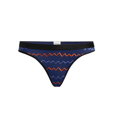 Women's Thong in Squiggle