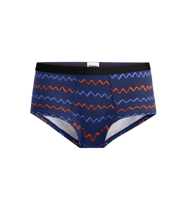 Women's Cheeky Brief in Squiggle